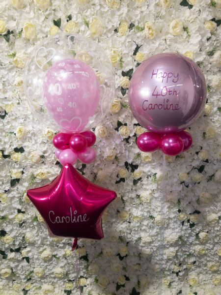Pink Deco  Bubble and Orbz Set